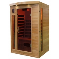 SAUNA INFRAROUGE MY PLEASURE 2 PERSONNES Image 1